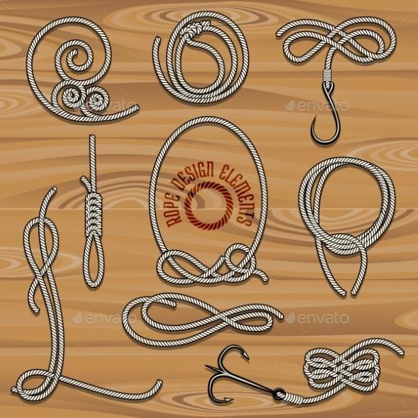 Rope Collection - Decorative Symbols Decorative