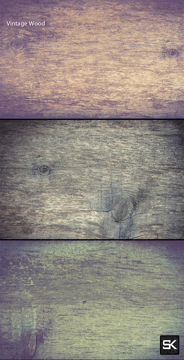 Vintage Wood.6 - Wood Textures