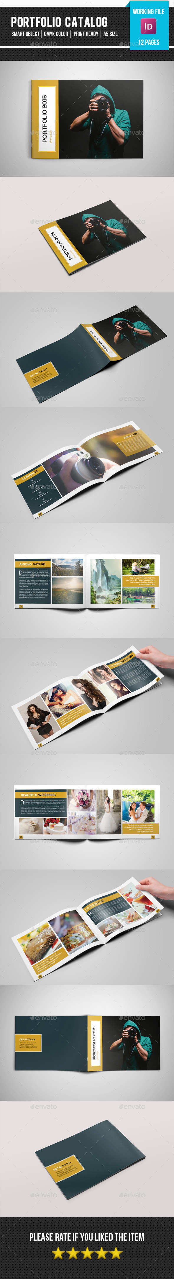 Photography Portfolio Catalog-V175 - Corporate Brochures