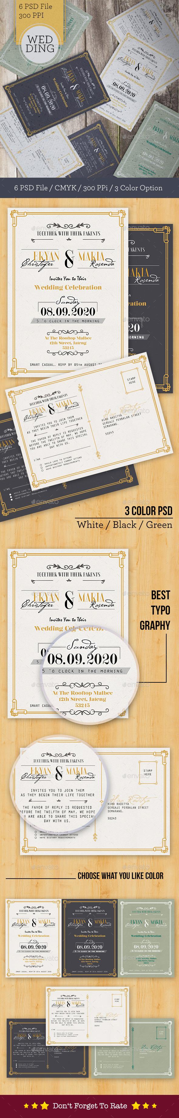 Modern Wedding Card - Weddings Cards & Invites
