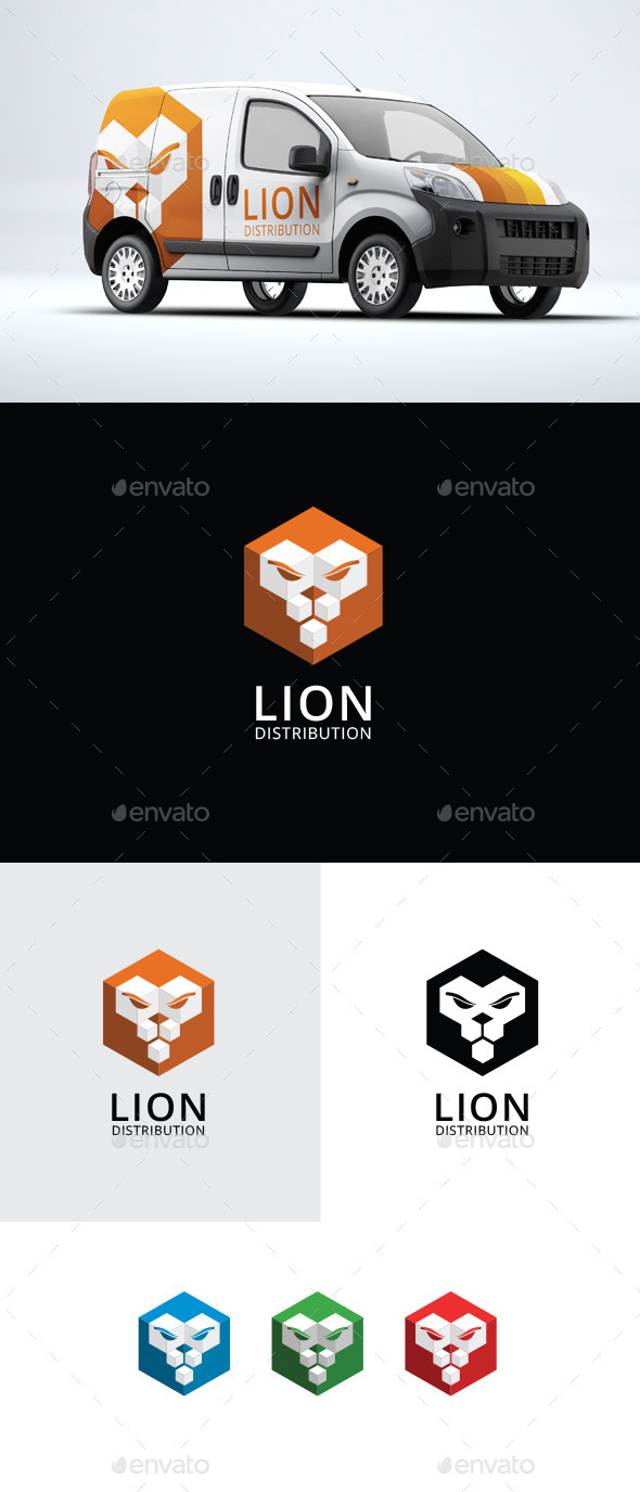 Lion - Animal Logo Template