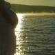 Pregnant Silhouette Admiring The Dawn Sun. - VideoHive Item for Sale