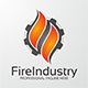Fire Industry Logo - GraphicRiver Item for Sale