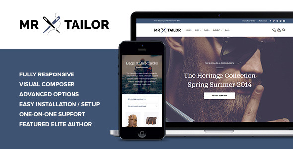 Mr. Tailor – Responsive WooCommerce Theme