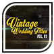 Vintage Wedding Titles vol. 01 - VideoHive Item for Sale