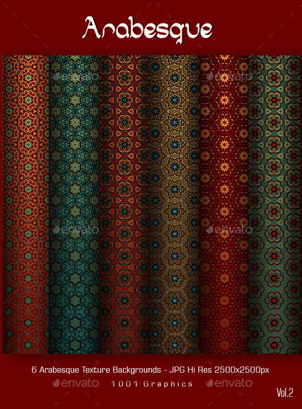Arabesque Texture Vol.2 - Patterns Backgrounds