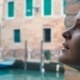 Woman With Sad Look Outdoor In Venice - VideoHive Item for Sale