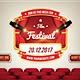 Film Festival - Cd Cover - GraphicRiver Item for Sale