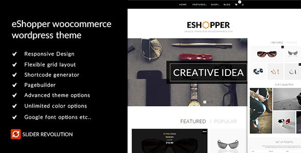 eShopper - WooCommerce WordPress Theme