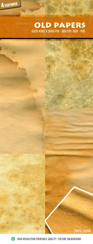 Old Paper 4n4 - Textures