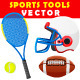 Sports Tools Vector - GraphicRiver Item for Sale