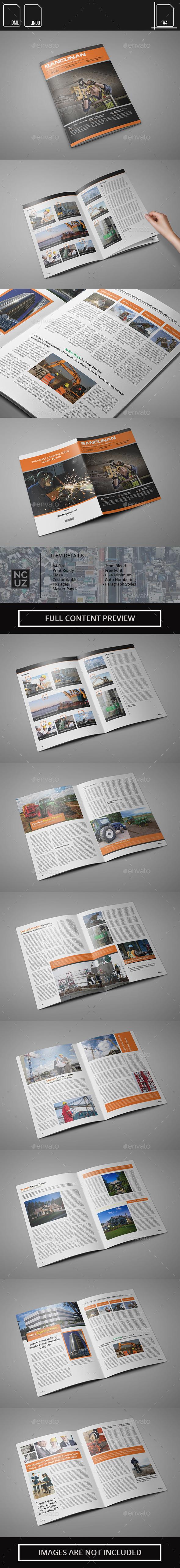 Construction Magazine - Magazines Print Templates