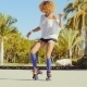 Beautiful And Sexy Girl Dancing On Roller Skates - VideoHive Item for Sale