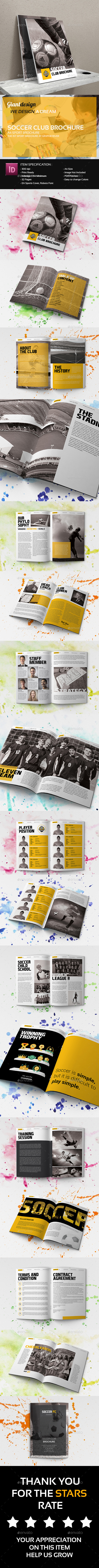 Soccer Club Brochure - Corporate Brochures