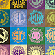 25 Monogrames Badge Labals With Alphabet v2 - GraphicRiver Item for Sale