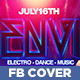 Guest DJ Facebook Timeline Cover - GraphicRiver Item for Sale