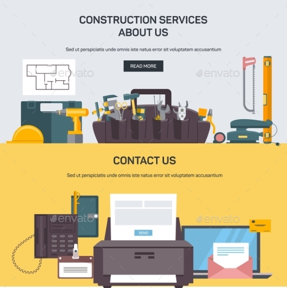Advertising Construction Services - Computers Technology