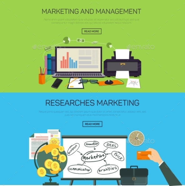 Marketing And Management. Research Marketing. - Web Technology