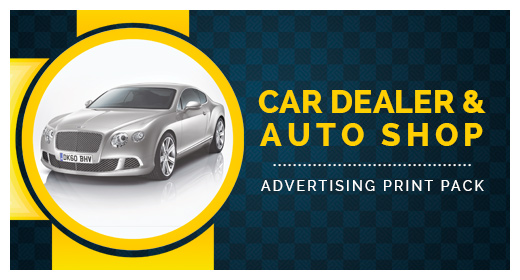 Car Dealer & Auto Services Print Pack