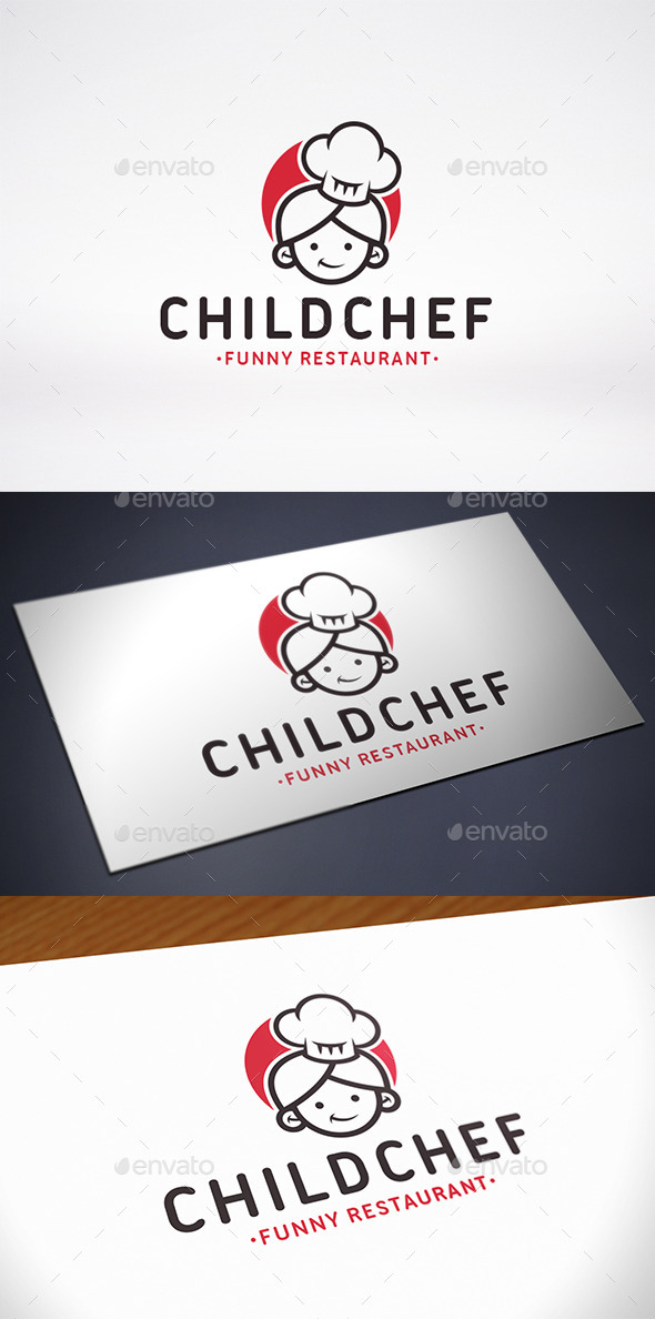 Chef Mascot Logo Template - Humans Logo Templates