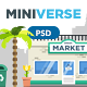 Miniverse - Hero Image Composer - GraphicRiver Item for Sale