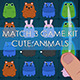 Match 3 Style Cute Game Kit - GraphicRiver Item for Sale