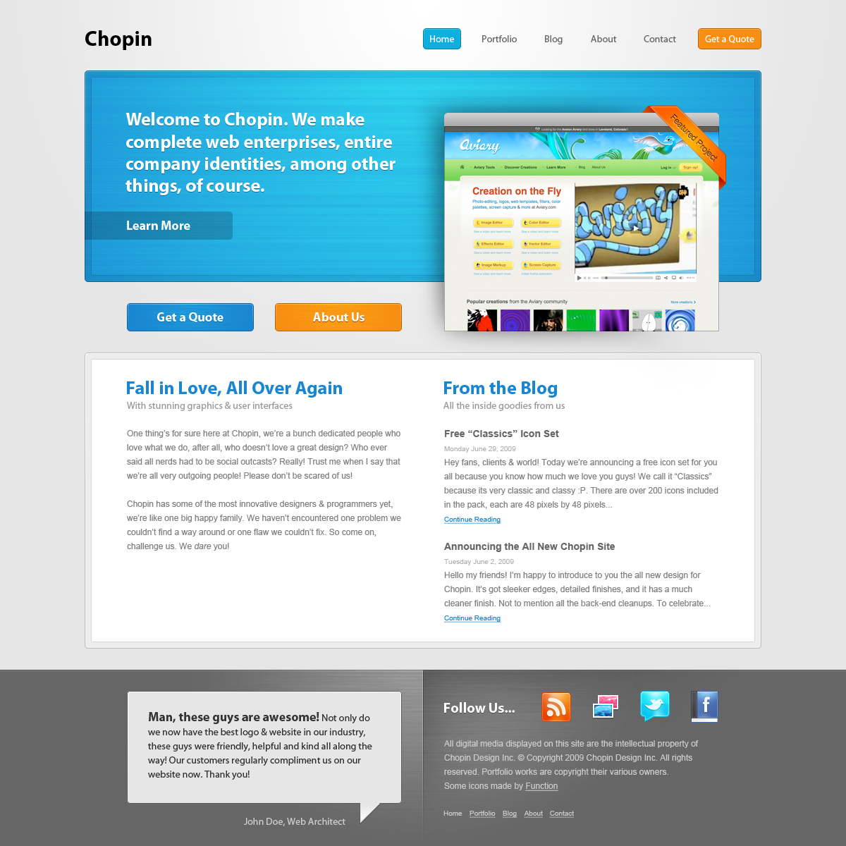 Free Download Chopin - Full PSD Nulled Latest Version