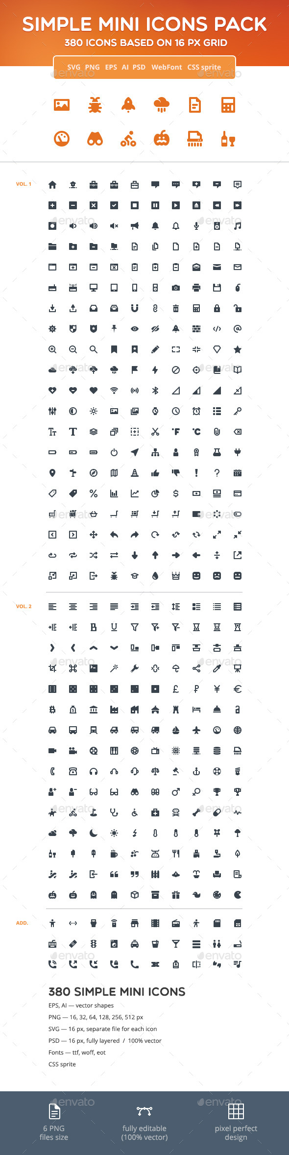 Simple Mini Icons Pack - Web Icons