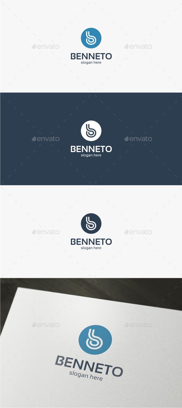 Benneto Letter B - Logo Template - Letters Logo Templates