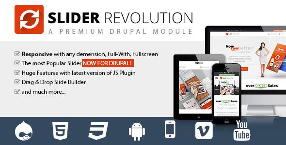 Slider Revolution - Responsive Drupal Module - CodeCanyon Item for Sale