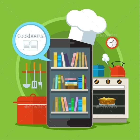 Concept of Searching for Recipes - Web Technology