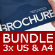 Bundle 3x Business Brochures - GraphicRiver Item for Sale
