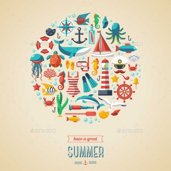 Summer Concept - Seasons Nature