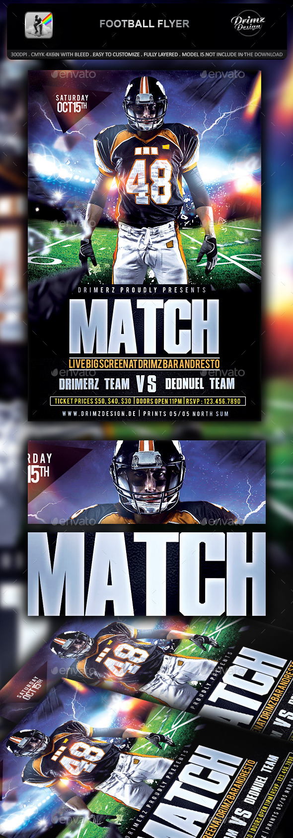 Football Flyer - Sports Events