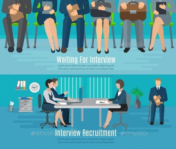 Hiring Process Banner Set - Concepts Business
