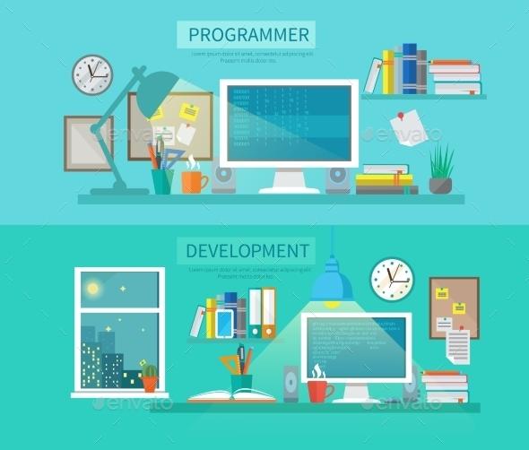 Workspace Banner Set - Concepts Business