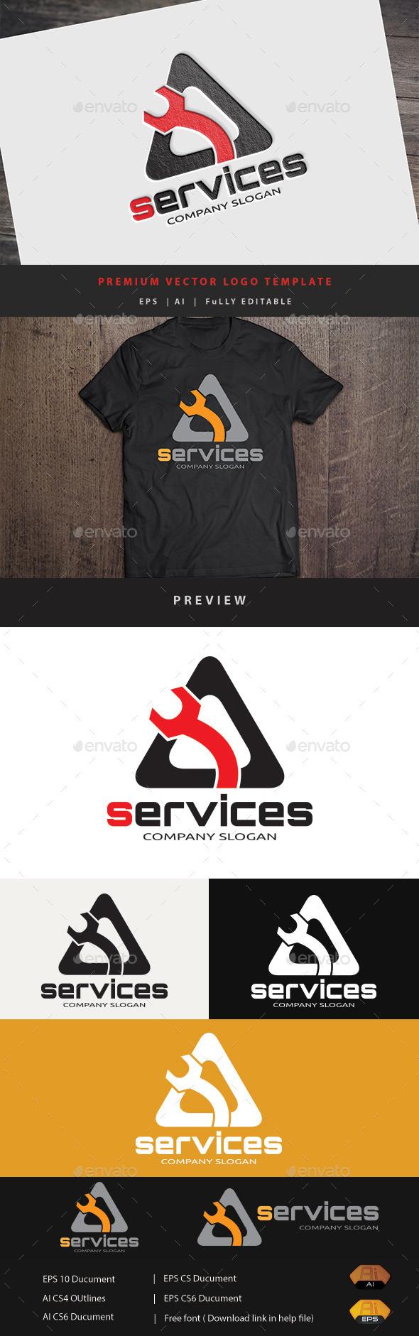 Services  - Buildings Logo Templates