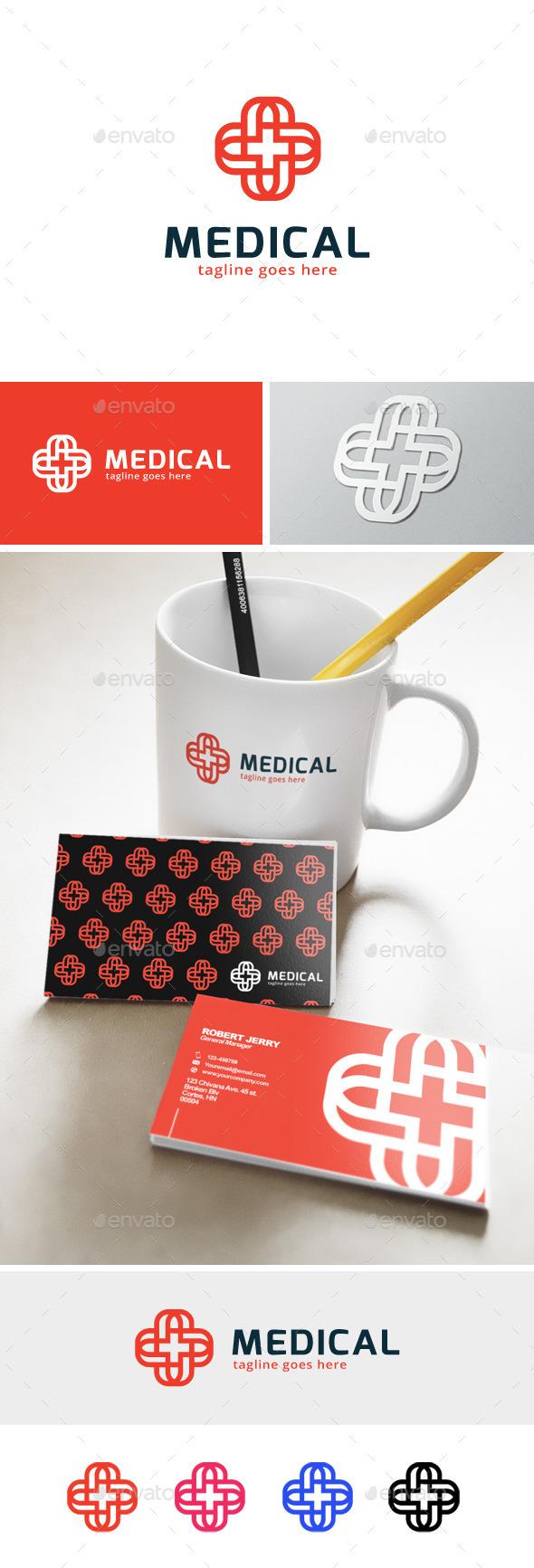 Medical Plus Logo - Abstract Logo Templates