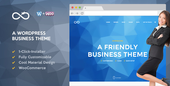Dragon - Friendly WordPress Business Theme