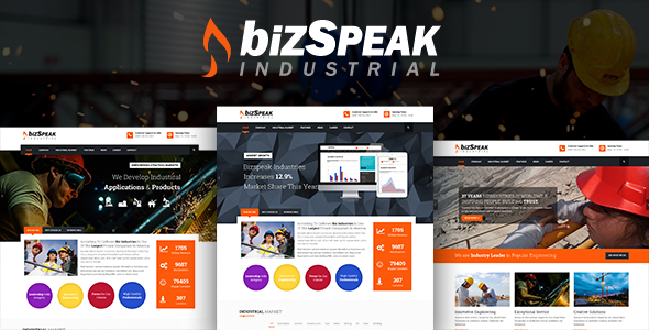 BizSpeak – Industrial Joomla Business Template