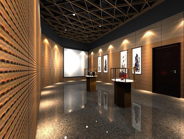 Exhibition Hall By Obiok 3docean