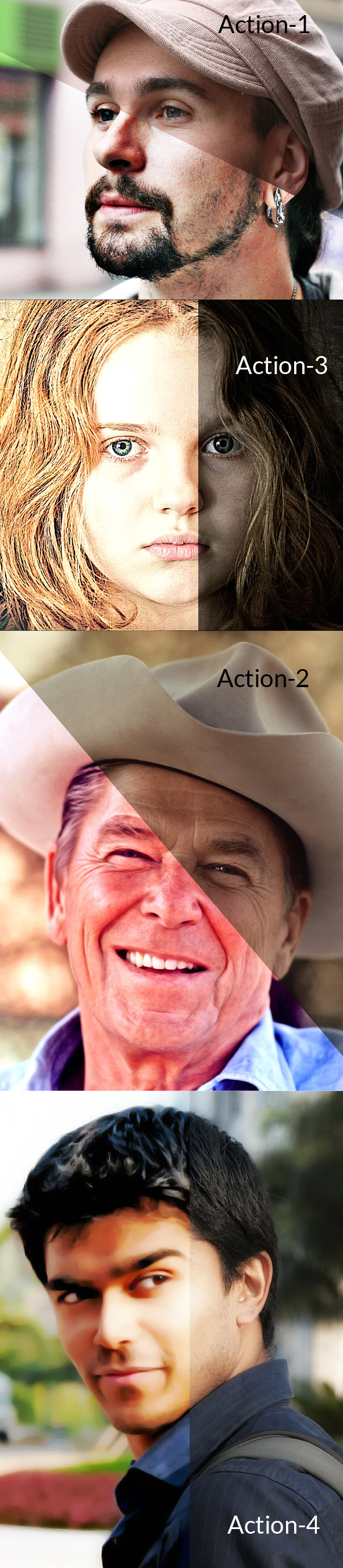 HDR Action - Photo Effects Actions