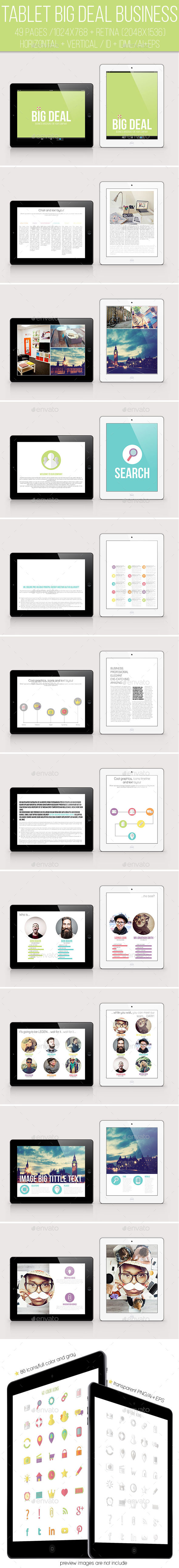 iPad &Tablet Big Deal Business Magazine - Digital Magazines ePublishing