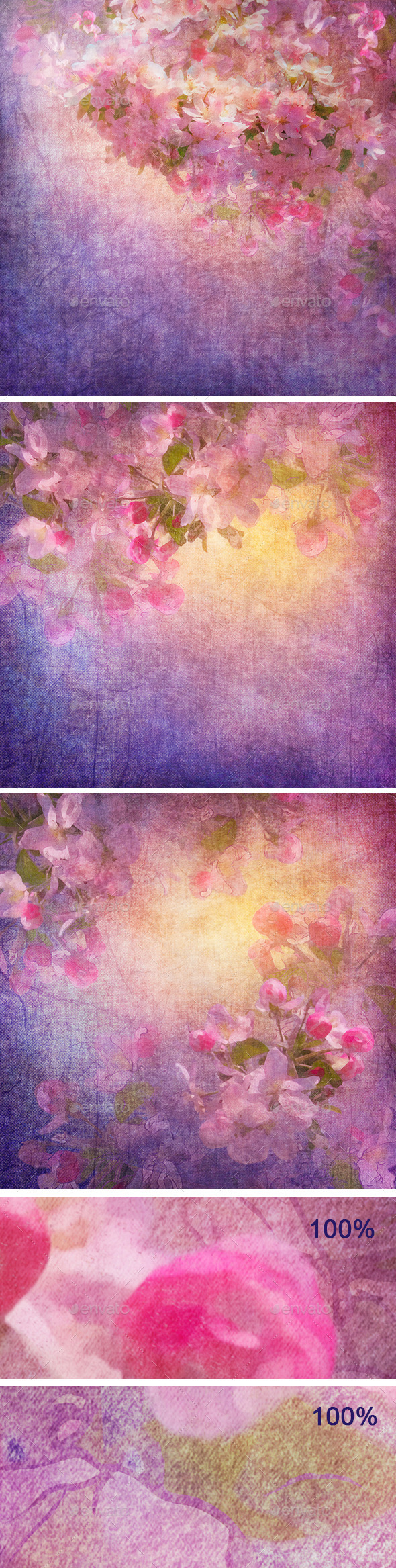 Spring Cherry Blossom - Nature Backgrounds