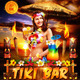 Tiki Bar Party Flyer  - GraphicRiver Item for Sale