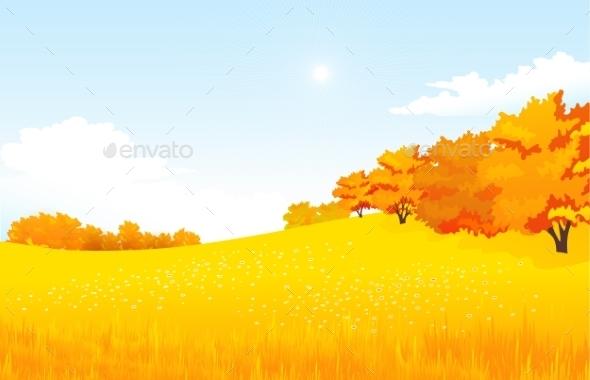 Autumn Landscape - Miscellaneous Vectors