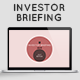 Investor Briefing Presentation Templates - GraphicRiver Item for Sale