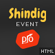 Shindig - A Rocking Single Event Site Template Nulled