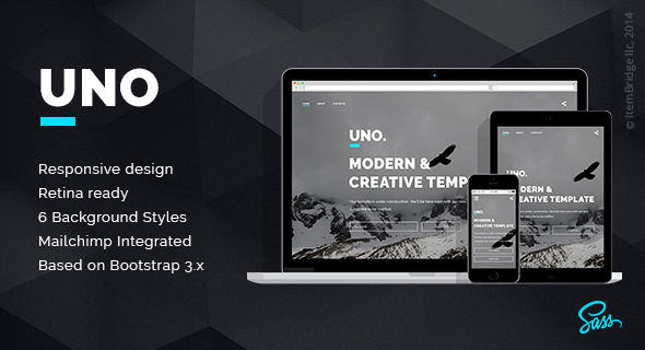 Uno – Coming Soon Template