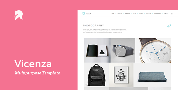 Vicenza – Multipurpose WordPress Template
